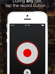 In case you want or need to record a phone call, the handy TapeACall app can assist you in recording, saving and sharing a voice call on your iPhone.