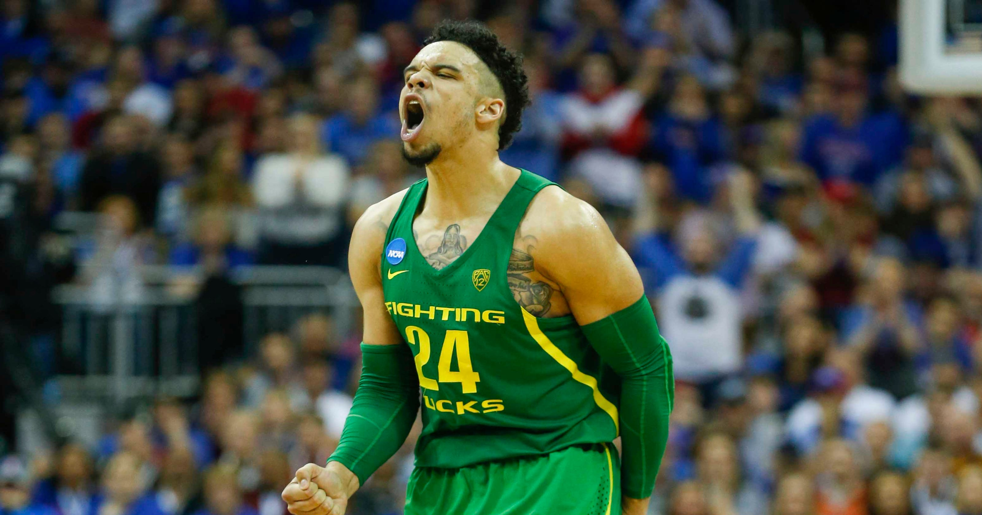 ankle oregons dillon brooks - HD 3200×1680