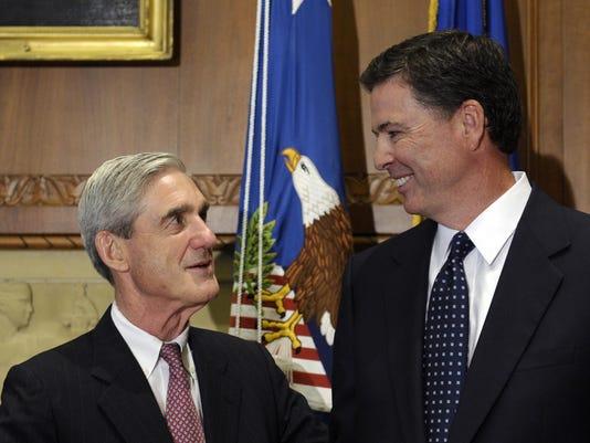 James Comey, Robert Mueller