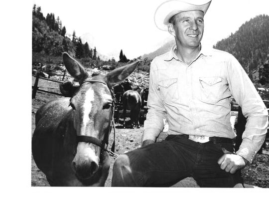 Bill DeCarteret in Mineral King in 1967.