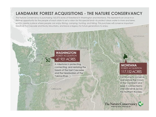 Nature Conservancy finalizes 183-square-mile Montana land purchase