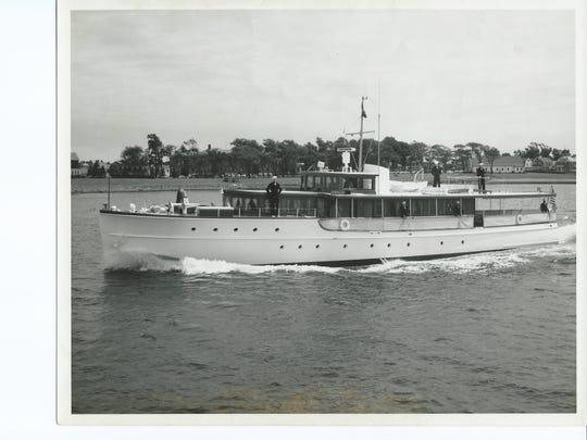 Jackson's Earl Anderson served President Dwight D. Eisenhower on this yacht for three years in the late 1950s while he was in the Navy. Presidents Truman, Eisenhower, Kennedy and Nixon used this yacht until it was sold to a private owner in 1970.