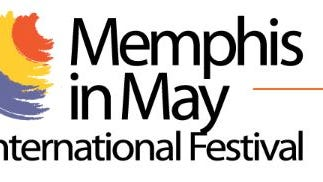 The logo for Memphis in May International Festival.