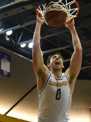 Lipscomb's Rob Marberry had 32 points and 11 rebounds in the final game of the regular season against Kennesaw State, which helped the Bisons win 20 games in two consecutive seasons for the first time in their NCAA Division I era.