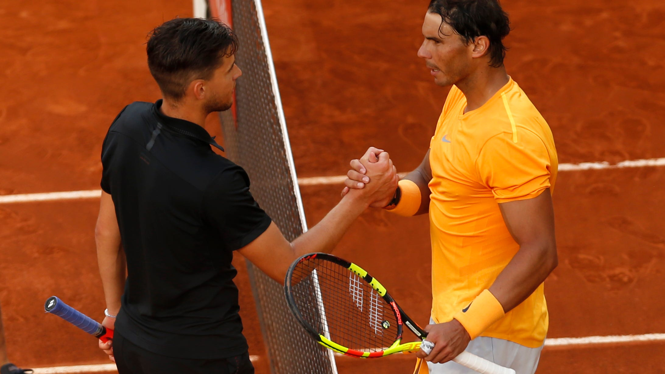 Rafael Nadal Loses To Dominic Thiem In Madrid First Loss On Clay In A Year