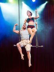 Cirque Mechanics combines classic circus techniques