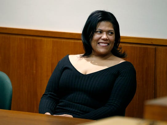 Judge Leticia Astacio returned to court on Friday at