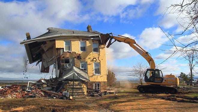 The princess cottage in Union Beach is torn down.