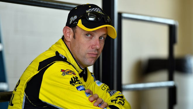 Matt Kenseth said he and Joey Logano have worked things out.