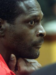 Crosley Green during a 2003 court hearing in Brevard