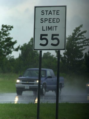 The 55 mph speed limit signs will soon be coming down from a stretch of Buffalo Road in Gates.