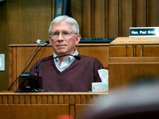 Crash survivor Paul Runnels testifies to the series