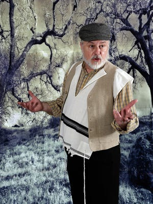 """""""Fiddler on the Roof,"""" featuring Ronnie Meek as Tevye."""
