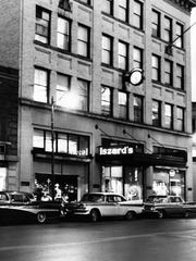 Iszard's Department Store, located at the northeast