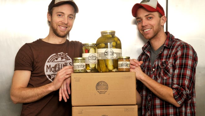 Bob (left) and Joe (right) McClure, cofounders of McClure's Pickles