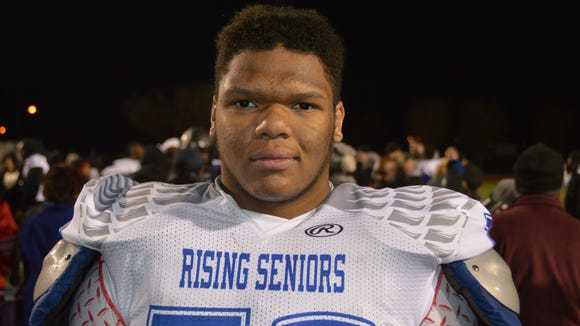 Sandy Creek (Ga.) OL Chandler Tuitt is the 15th commitment for Ole Miss in 2016