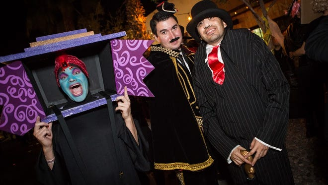 These fortune tellers had fun at Sean Watson's Halloween Costume Ball at Crescent Ballroom on Oct. 31, 2015.