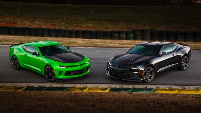 The Chevrolet Camaro 1LE performance package will be available for 2017 models later this year