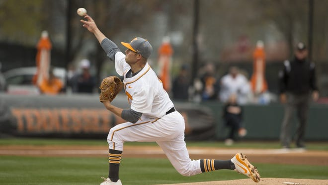 Tennessee pitcher and former Blackman standout Hunter Martin was taken in the 20th round by the Houston Astros in the MLB Draft Wednesday.