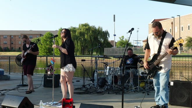 Live at the Lakes concerts at Wichita Falls Museum of Art at Midwestern State University.