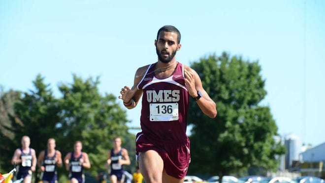 Rmidi Kinini placed 24th at the NCAA Outdoor Track & Field National Championship on June 7.