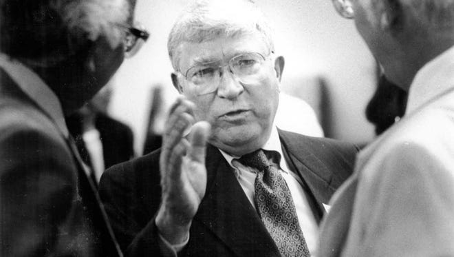 Jim Tarman retired as Penn State's athletic director on Dec. 31, 1993. He died exactly 24 years later in State College at age 89.
