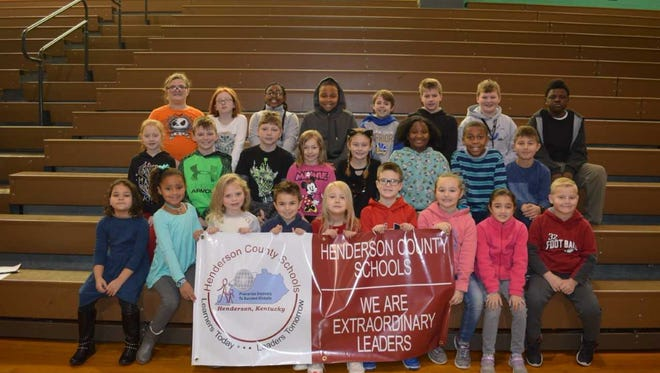 Bend Gate Elementary's December leaders of the month are, front row from left: Aubre Green, Emma Summers, Thea Kessler, Hudson Moore, Avery Hargiss, Mason Smith, Jayci Sutton, Addie Hargis, and Ben Workins. 2nd row:  Jayden Beck, Cole Thompson, Christopher Goodman, Brighley Little, Khloe Bullock, MaLeisia Griffin, Kahlavion Hall and  Miles Gugel. Back row: Emiley Barker, Ashlynne Crowley, Jayla Pruitt, Jaedyn Baker, Solomon Sugg, Gavin Herndon, Zane Wilson and La'Ronte Meriweather. Absent for Photo:  Ali Greenwell, A'Khari Dixon, Demetrice Pettus, Grace Galbraith and Caleb Dant.