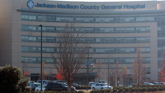 File photo of Jackson-Madison County General Hospital.
