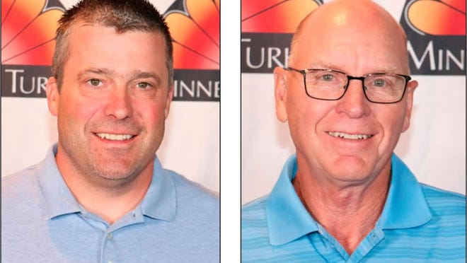 Area growers Paul Kvistad (left) and Wayne Knudsen have been elected to serve in leadership roles for the MTGA.