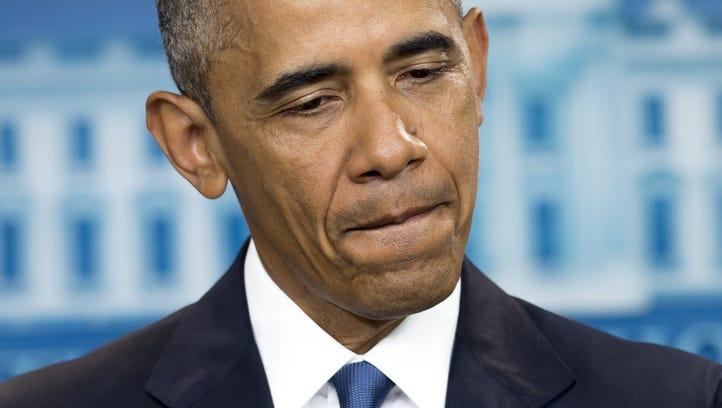 US President Barack Obama speaks about the Supreme