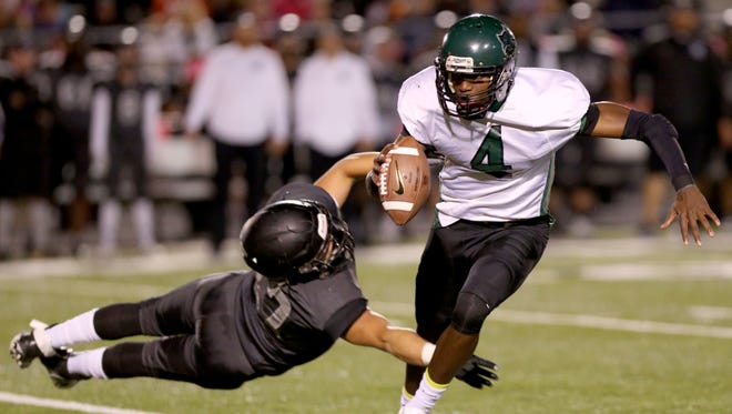Devin Coleman (4) and Cordova ran the ball well last week against Houston. Can they do the same against Whitehaven Friday in a game that will decide the Region 4-6A title?