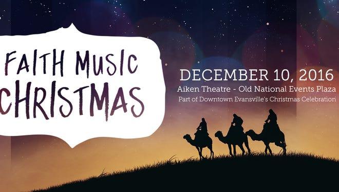 Faith Music Christmas is Dec. 10.