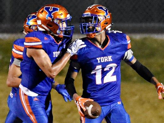 York High vs Cedar Cliff football