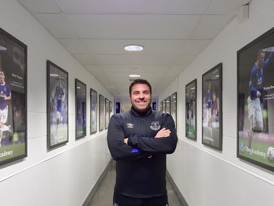 David Unsworth is Everton's  under-23 coach and leading