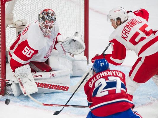 Red Wings Canadiens Hockey