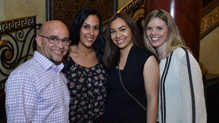 Antonio Rivera, Nicole Pirrello, Diana Martinez and