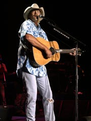 2003: Alan Jackson at the Iowa State Fair Grandstand.
