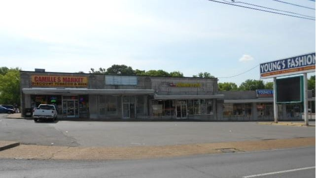 The property where H.G. Hill plans a mixed-use development includes 1133 Gallatin Ave.