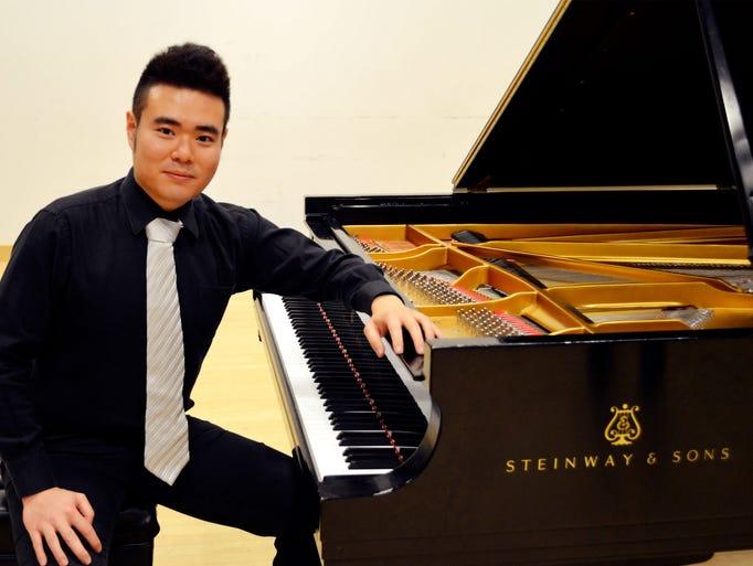 Yibing Zhang Began studying piano at the age of three