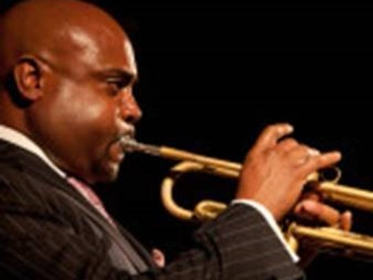 Terell Stafford performs April 15 as part of the St.