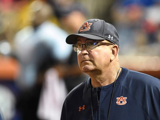 Auburn head softball coach Clint Myers abruptly retired