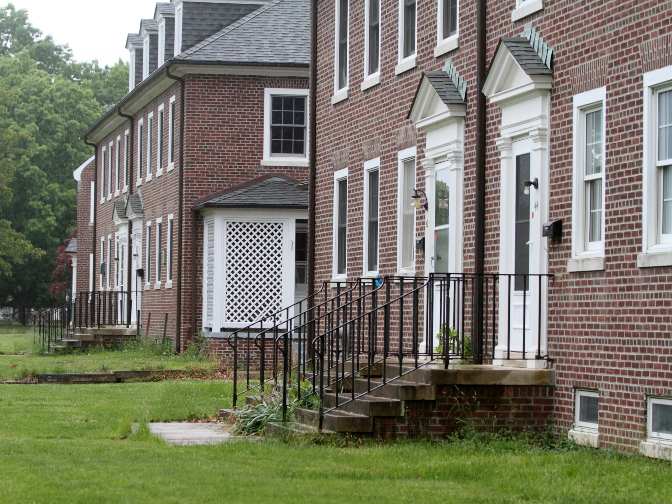 Officers quarters on Fort Monmouth, Thursday, May 21,