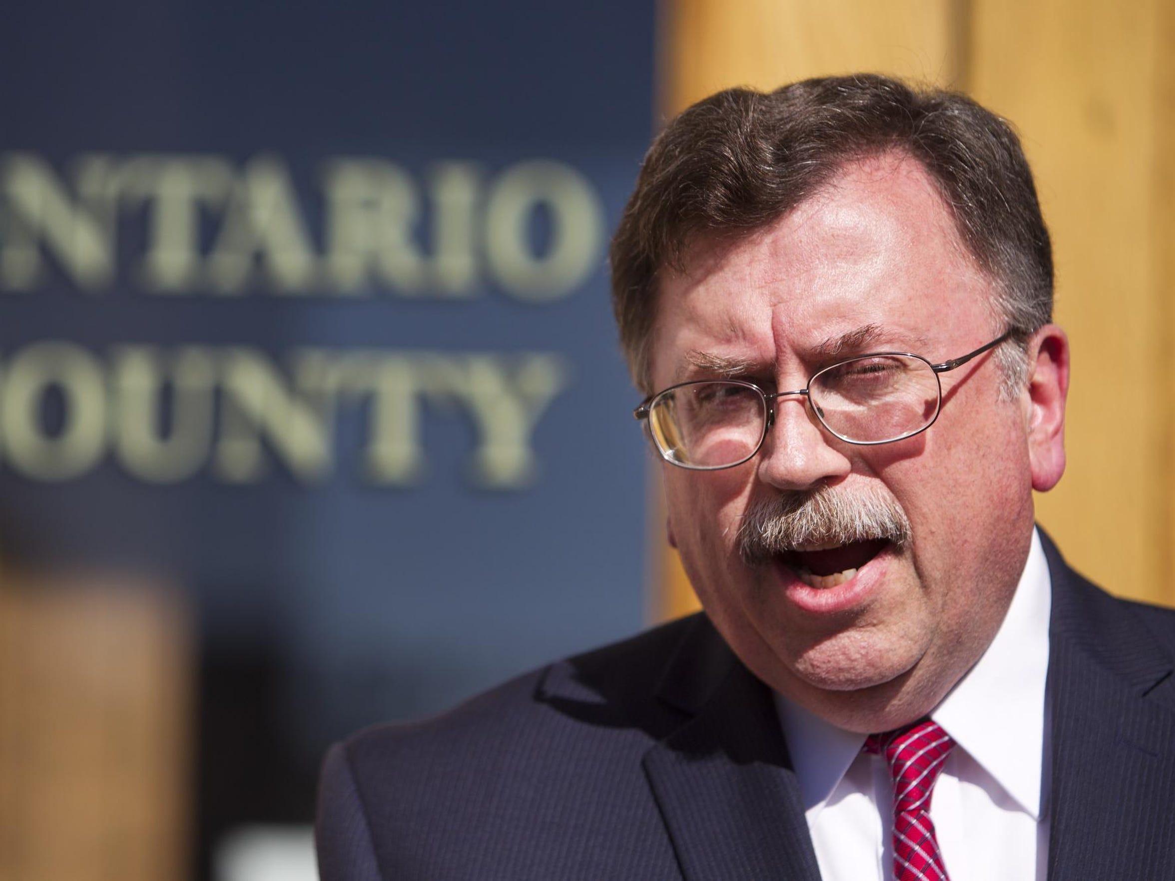 Ontario County District Attorney Michael Tantillo states