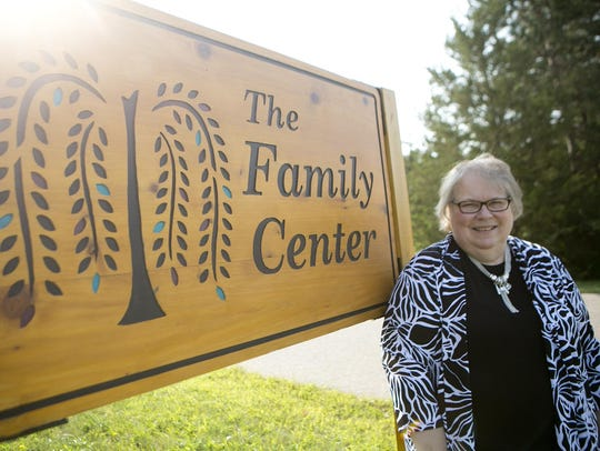 New director of the Family Center Susan Sippel poses