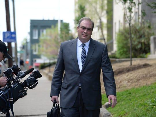 Former state Personnel Secretary, Tim Longmeyer, leaves