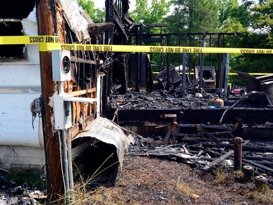 An early-morning fire in the 3000 block of Claremont