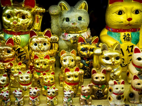 Admission to the Lucky Cat Museum is free, but donations