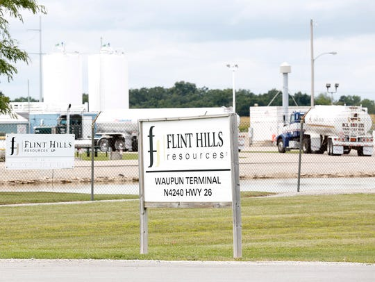 The Flint Hills Resources terminal in Waupun will double