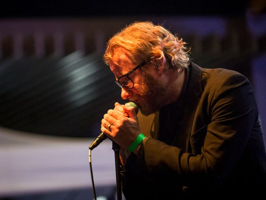Cincinnati-bred rock band The National performs a Get