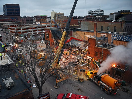 Copper Lounge Building Collapse